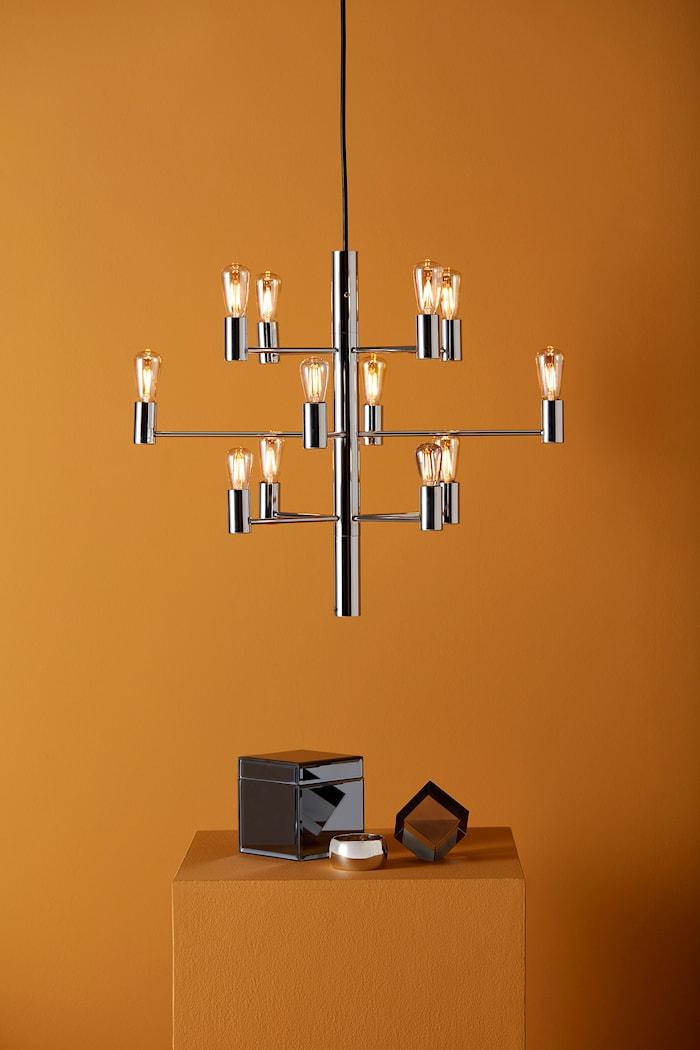 Manola 12 Kronor Krom E14 Dimbar LED