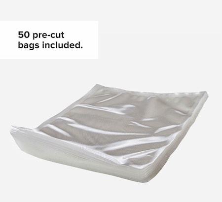Precision® Vakuumpåsar 50st - Pre-cut