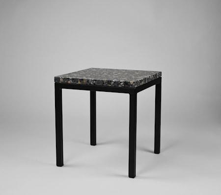 Piccolo bord 30x30x30 Svart underrede Firenze dark grey