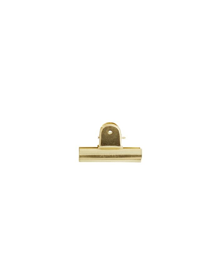 Klemme 7 cm - Guld