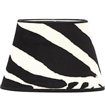 Lampskärm Oval Zebra