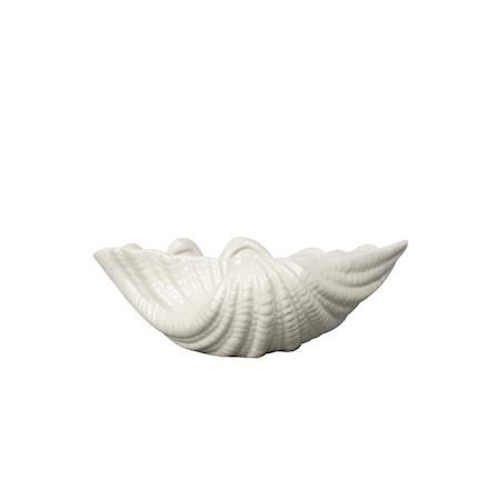 Shell Skål Hvid S