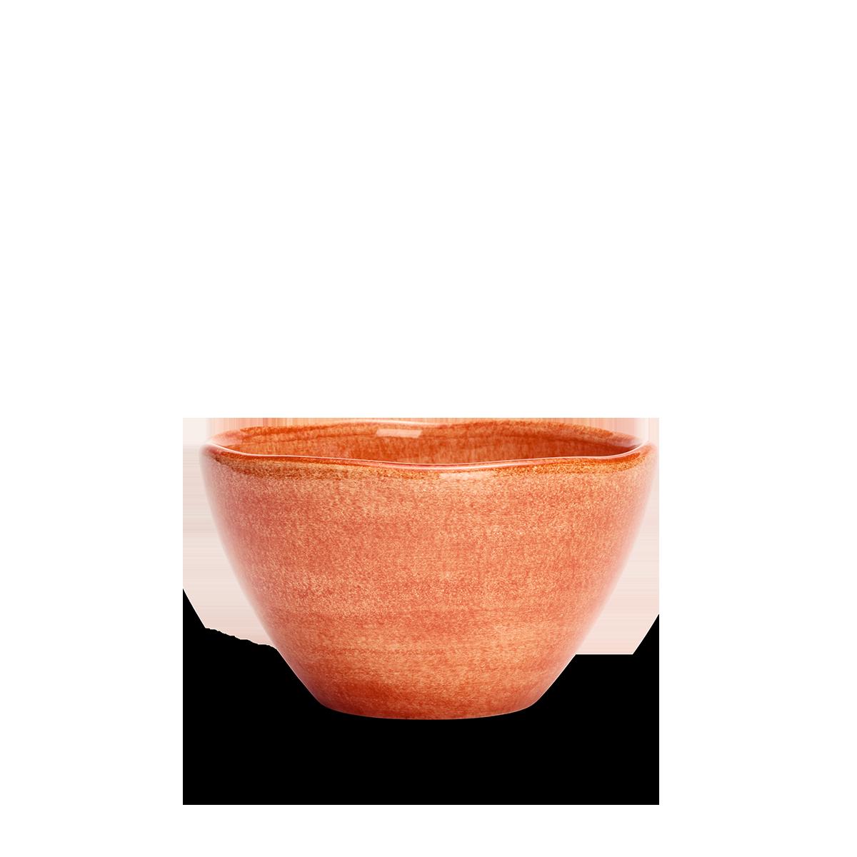 Organic Skål Orange 12 cm
