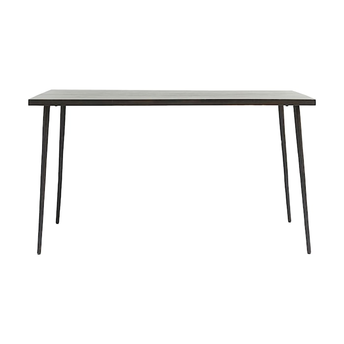 Spisebord Slated Svart 140 cm