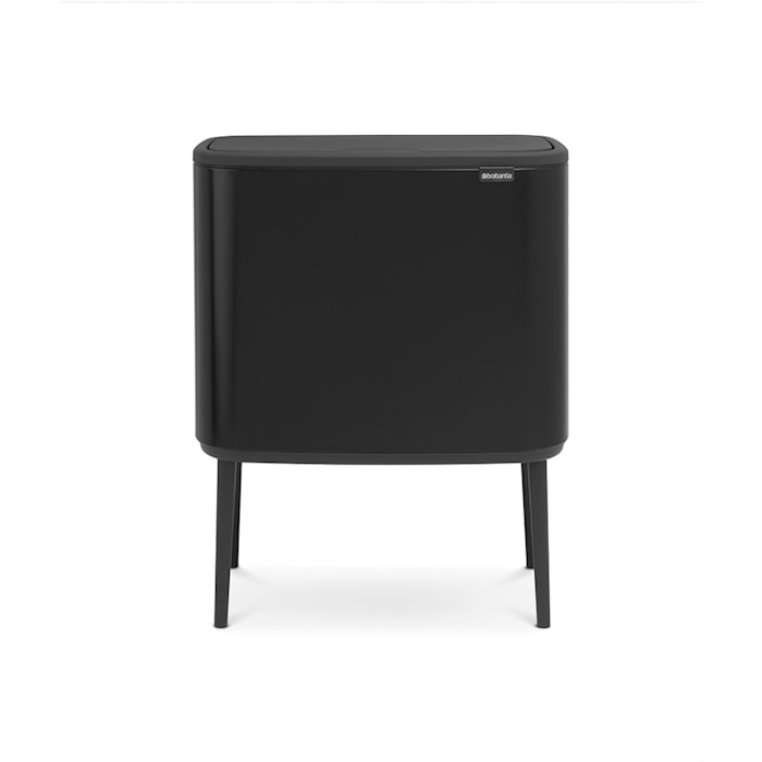 Bo Touch Bin, 3 x 11L, Matt Sort