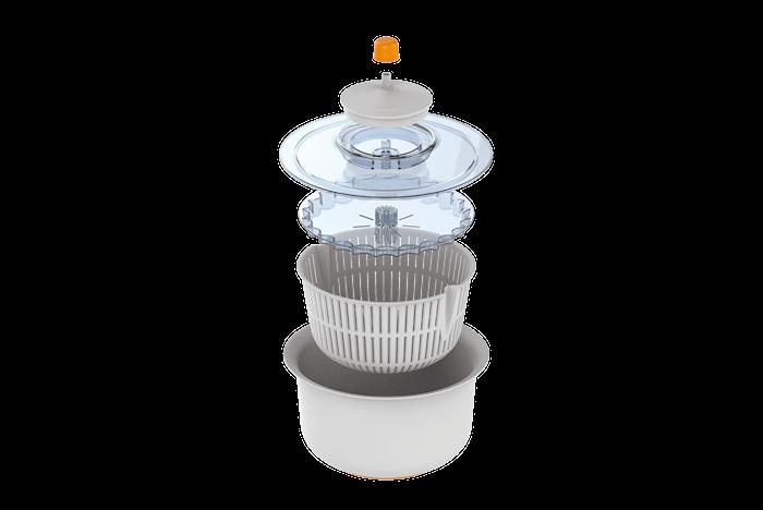 Functional Form Salatschleuder Plastik Weiß
