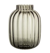 Vase Glas Ø 18,5 cm - Grå