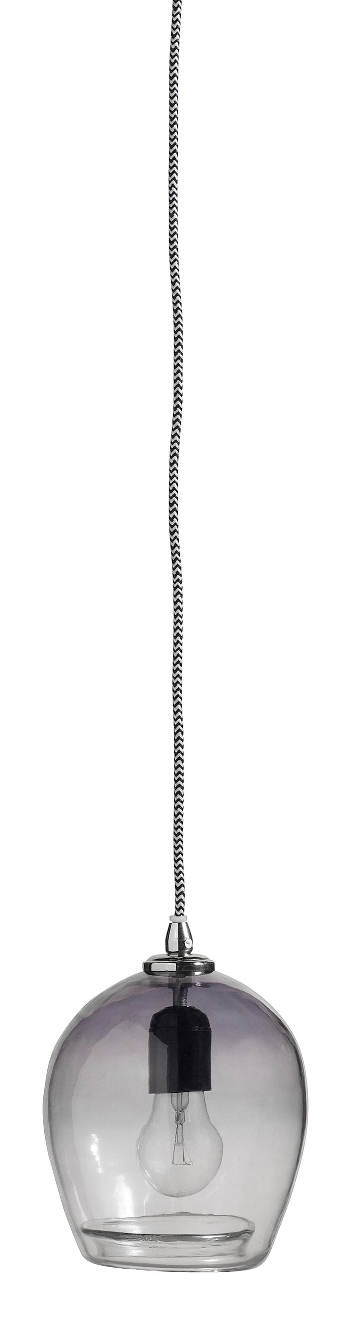 Bubble Pendel 17cm Grå