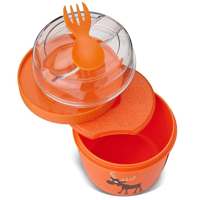 N'ice Cup Matboks med Kjøleelement Oransje