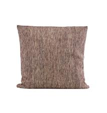 Housse de coussin Riti marron 50 x 50 cm