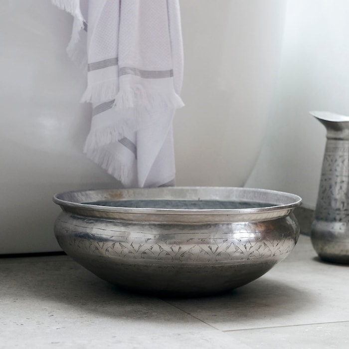 Balja Althea Antique silver 42 cm