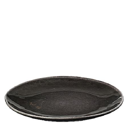 Stor middagstallrik Nordic Coal Ø 31 cm
