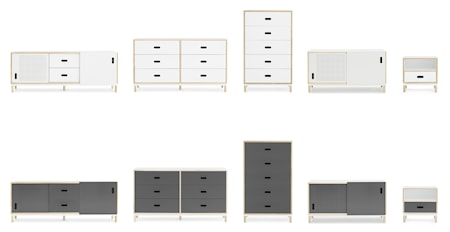 Kabino 6 drawers byrå – Grå