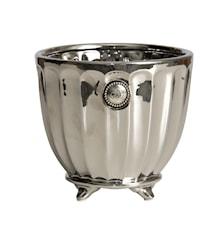 Blomkruka Notilde H16,5cm Silver