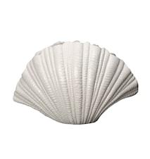 Vase, Shell, Hvid, h: 21 cm