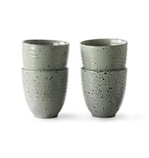 Gradient Ceramics Mugg Green 4 st