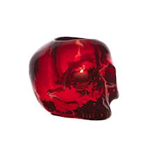 Still Life Skull Punainen Kynttilälyhty Ø 11,5 cm
