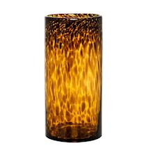 Vase Glas Brun 12x25 cm