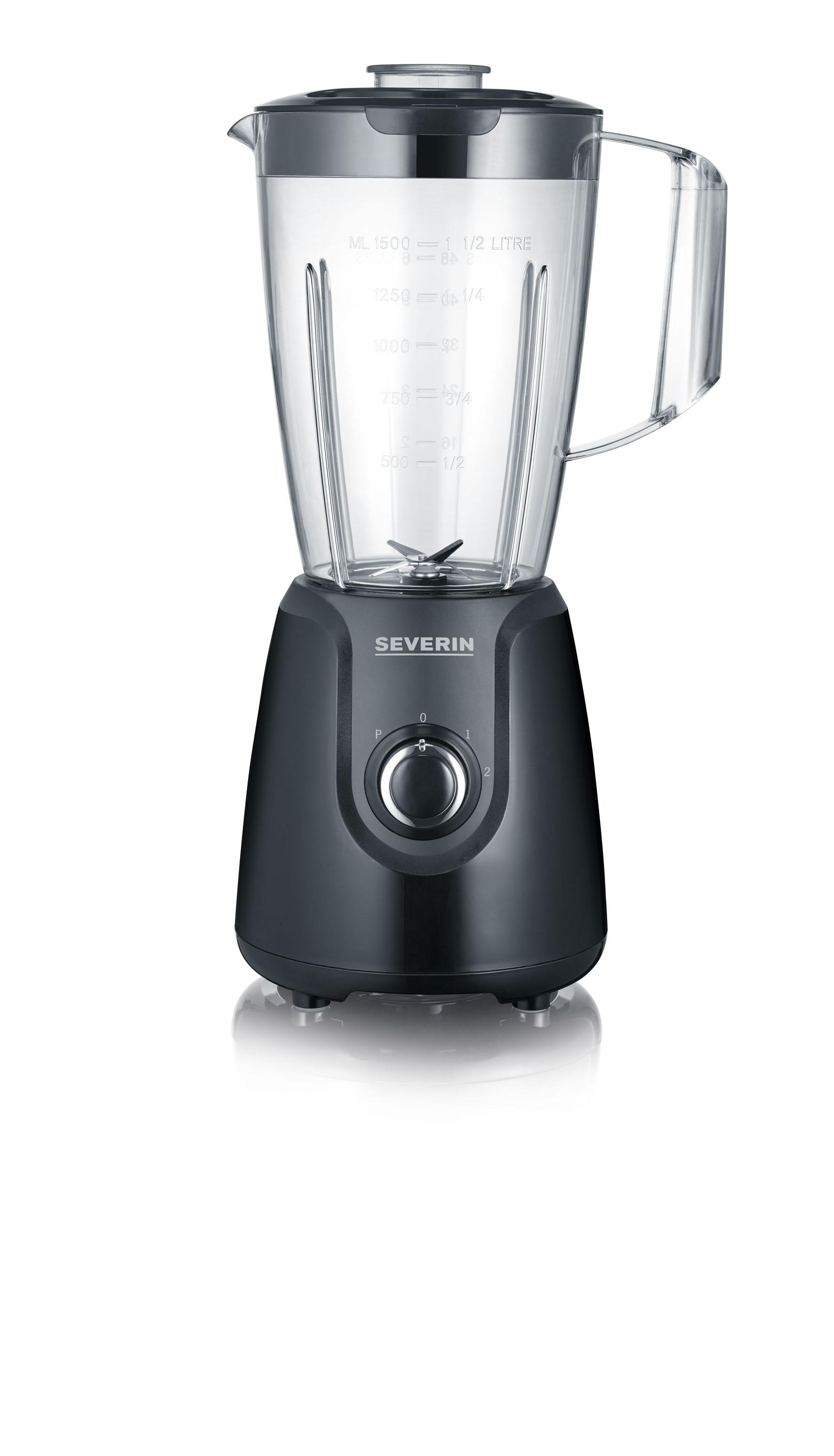 Mixer 15L 600w Svart