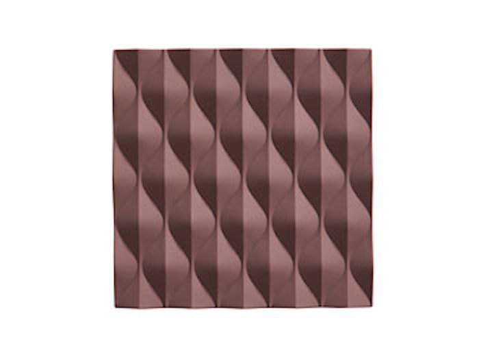 Origami Wave Grytunderlägg Plum