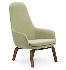Era Lounge Chair High Walnut Breeze Fusion
