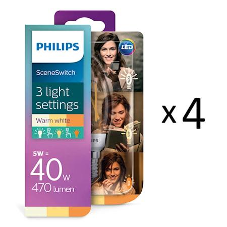 LED SceneSwitch polttimot E14 4kpl
