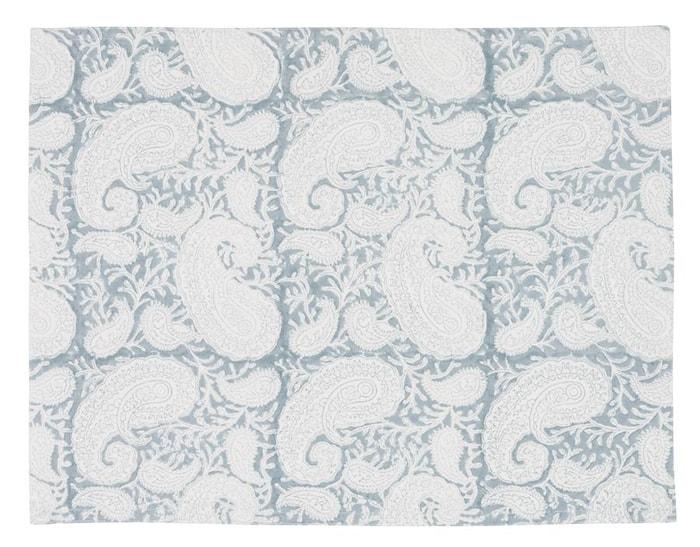 Tablett Big Paisley 2st - Cashmere Blue