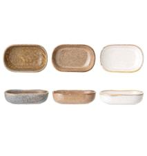 Addison Serving Dish, Multi-color, Stoneware