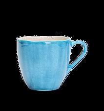 Organic kaffemugg Turkos 60 cl