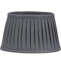 Indi Lampeskjerm Plissé Grey 30 cm