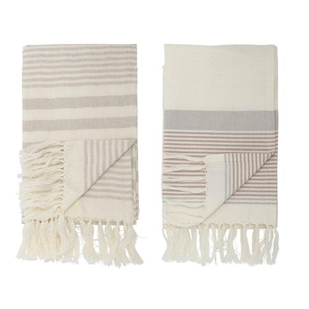 Billede af Håndklæde Cotton Grey 2 stk