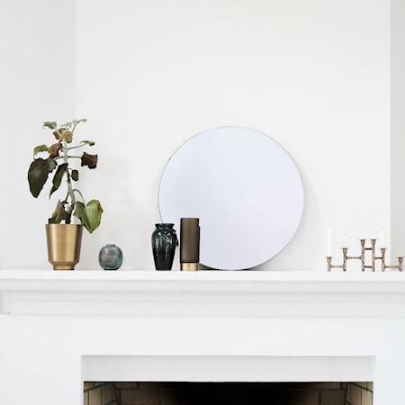Walls Spegel Ø 50 cm Klar