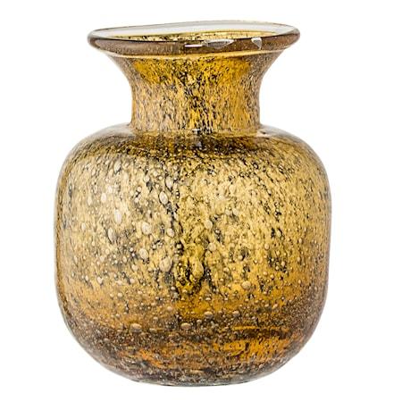 Vase Brun Glass 11x15 cm