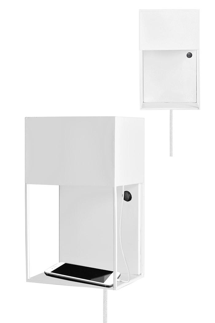 Box Væglampe Hvid