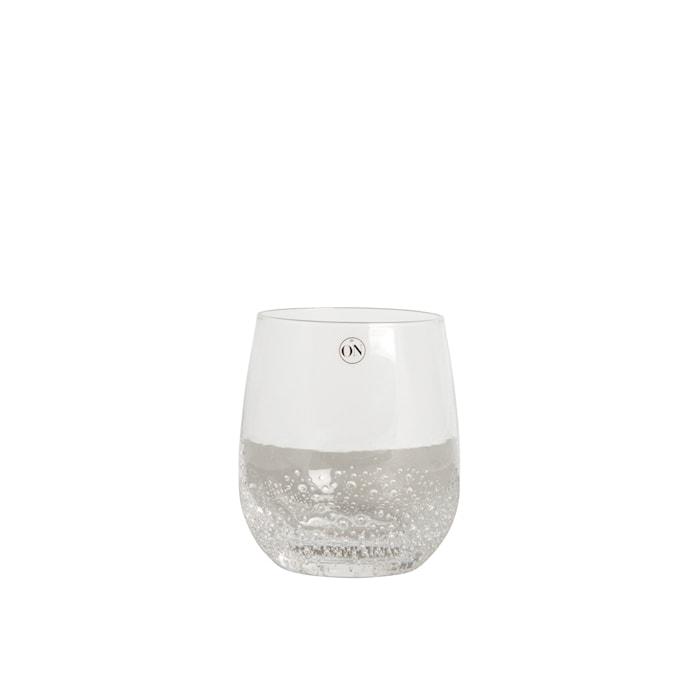 Vattenglas Bubbles Klar
