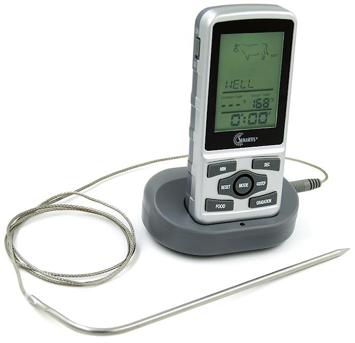 Trådløs portabel termometer