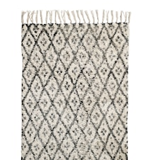 Rug Diamonds 60x90 cm Gray