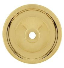 Maris swan væglampe - Polished brass