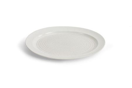 Drop Serveringsfat Hvit 38 cm