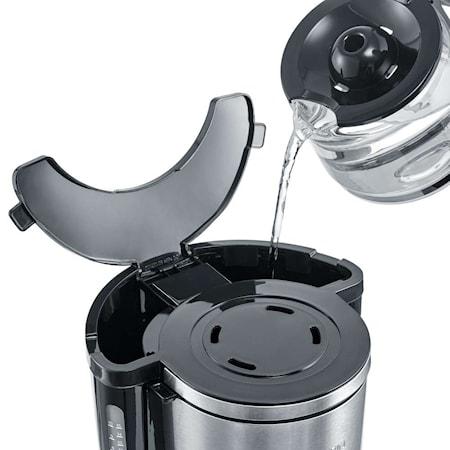 Kaffebrygger med Aromaindstilling, 10 kopper, Rustfri stål