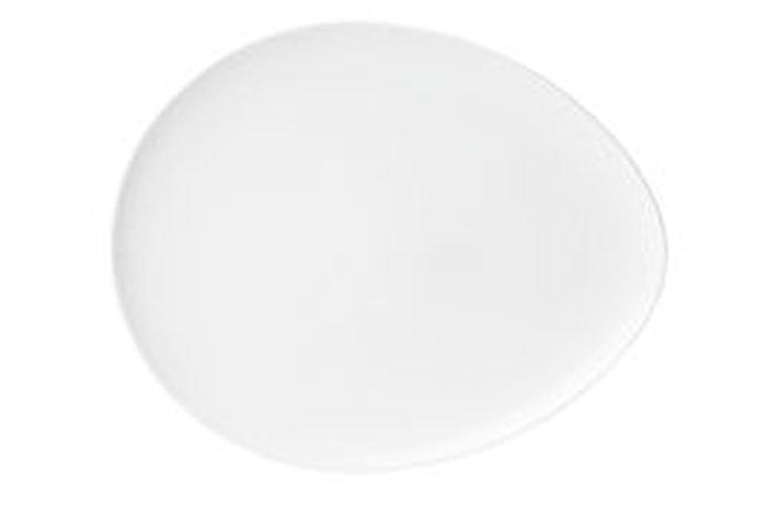 Tallrik oval Athos 23x19 cm