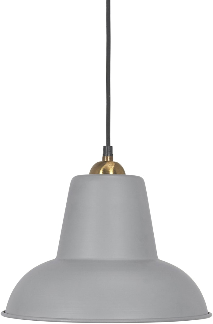 Scottsville taklampe Grå 30 cm