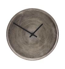 Klocka Curva Silveroxiderad 30 cm