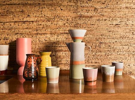 Ceramic 70's Kaffekanna