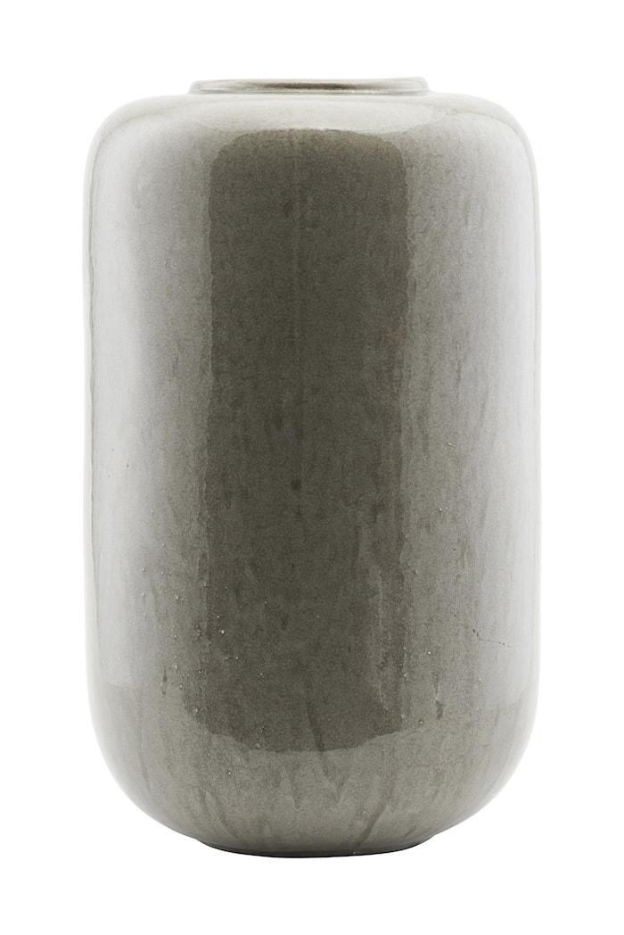Vase Jade Ø 29x50 cm - Grå