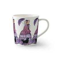 Elsa Beskow muki kahvalla Tant Lila 40 cl