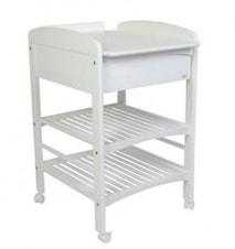 Lux skötbord med 1 låda vit