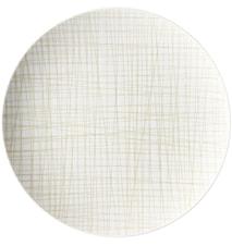 Mesh Line Cream Tallrik 27 cm