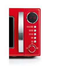 Mikroaaltouuni Retro 700W Punainen