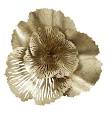 HOY Väggdekoration Golden Flower